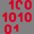 Icon of binary code