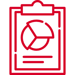 Icon of a report