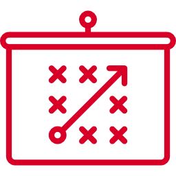Icon of a game plan