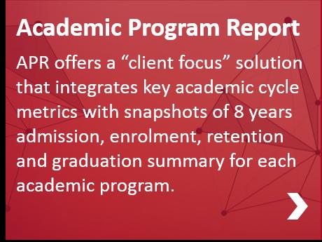 Academic Program Report