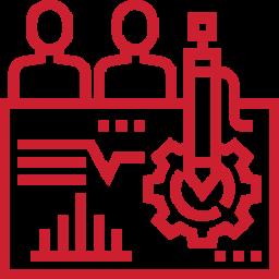 Icon of a report/presentation